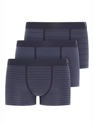 3erPack Active Cotton Trunk