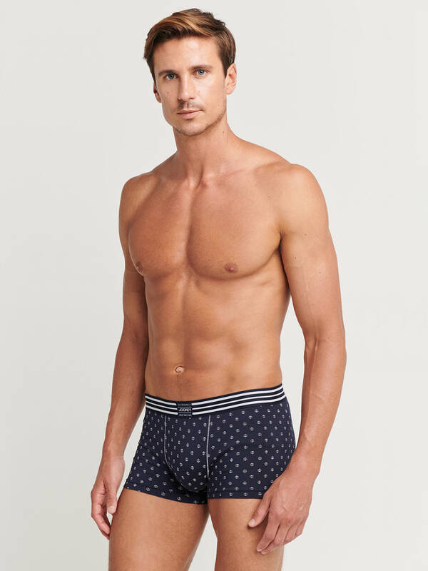 Jockey Fashion Short Trunk navy