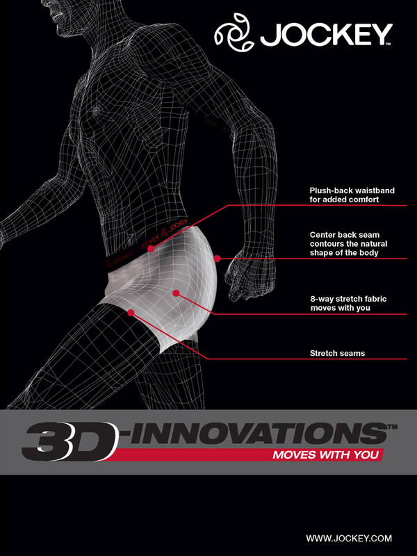 Jockey 3D-Innovations Brief Duopack