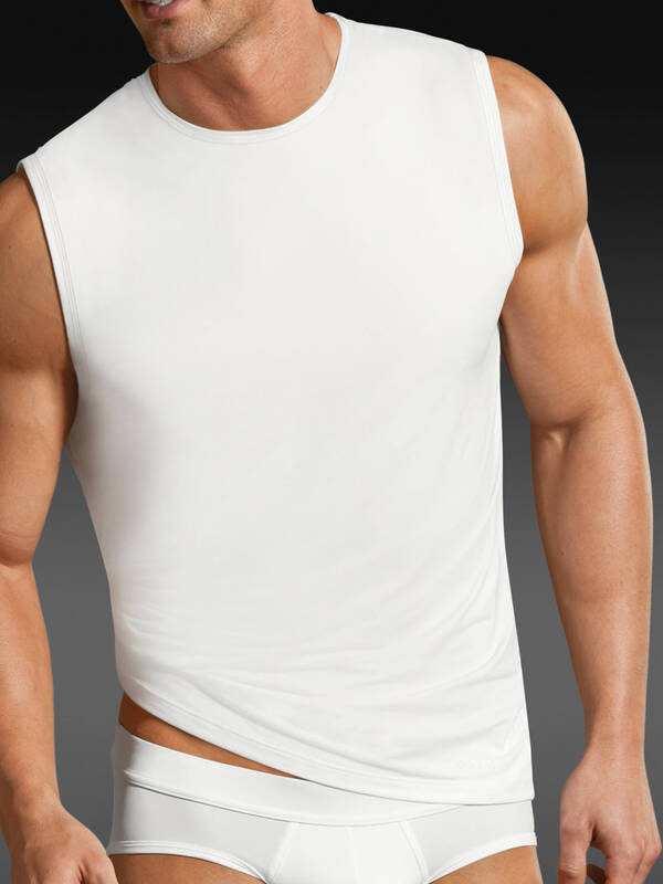 Jockey Microfiber Athletic Shirt white