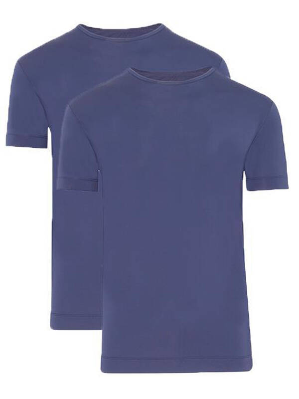 Jockey Tshirt Microfiber Air 2erPack night blue