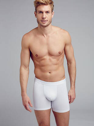 Jockey Boxer Trunk Microfiber Air 2erPack white