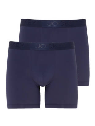 Jockey Boxer Trunk Microfiber Air 2erPack night blue