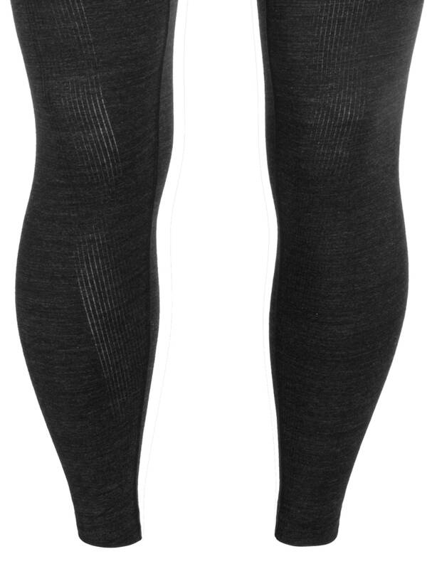 Jockey Long John jet-black-melange