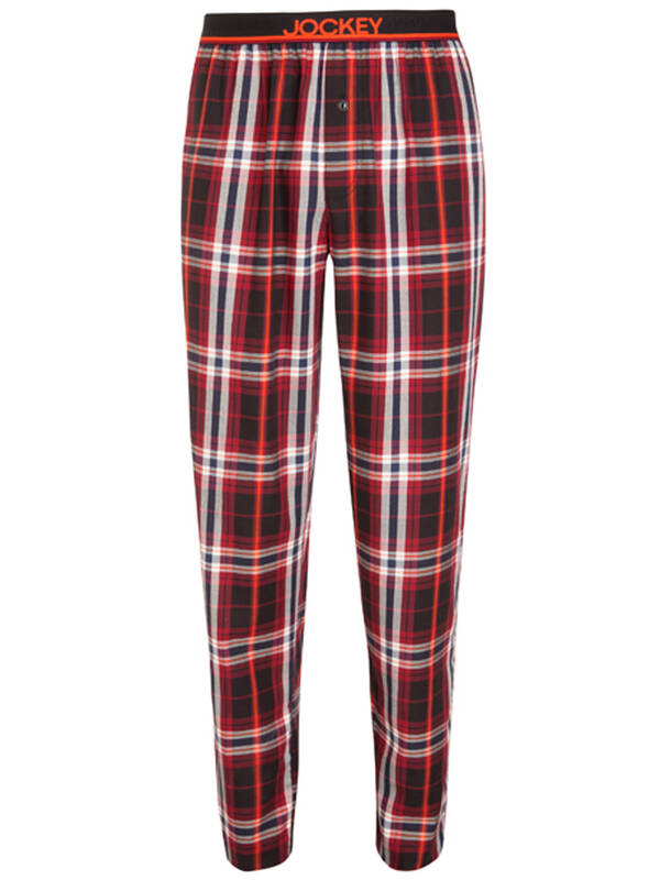 Jockey Pant woven black/red
