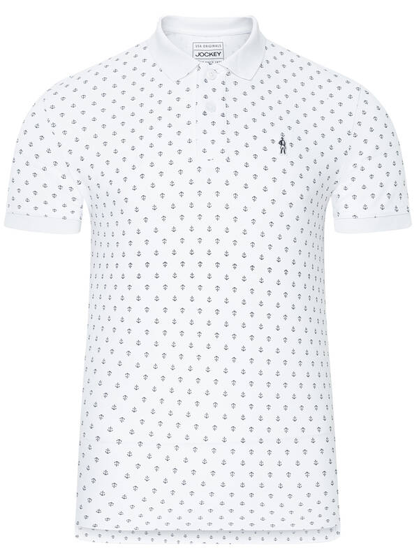 Jockey Fashion Poloshirt white