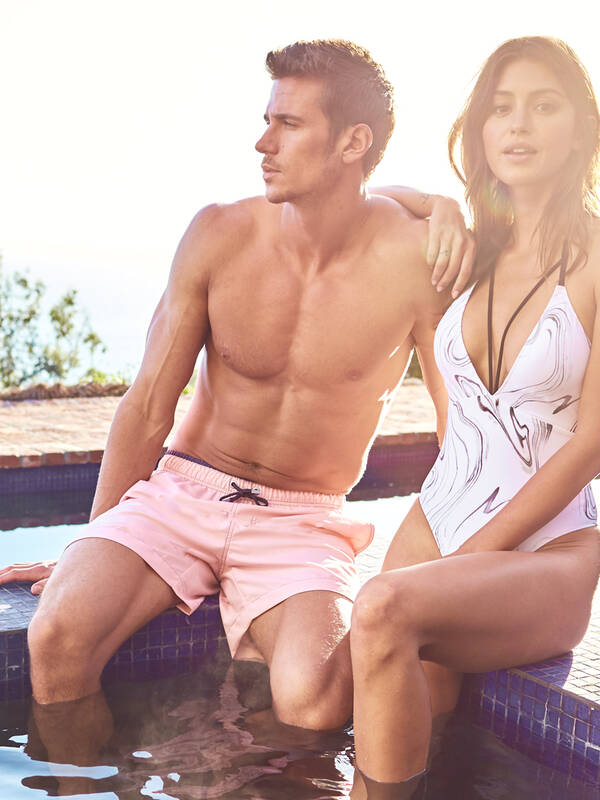 Jockey Beach LongShort faded