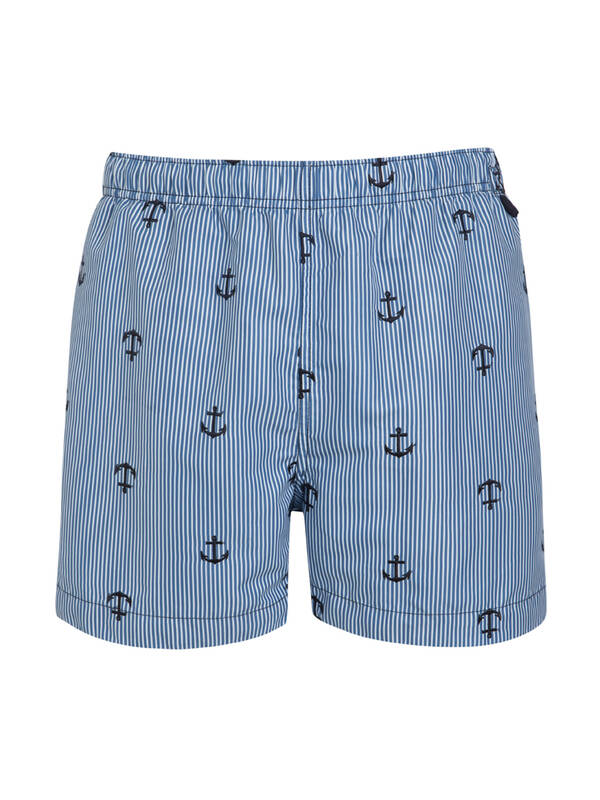 Jockey Badeshort regatta blue