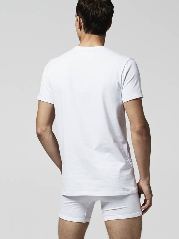 Lacoste Colours Crew Neck Tee 2erPack weiss