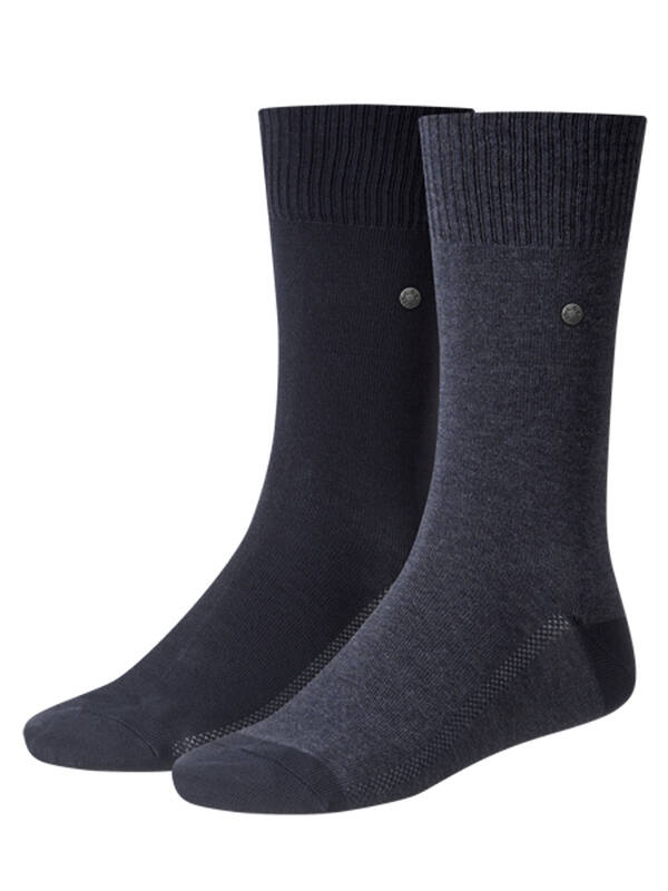 2erPack Levis Socken dark denim