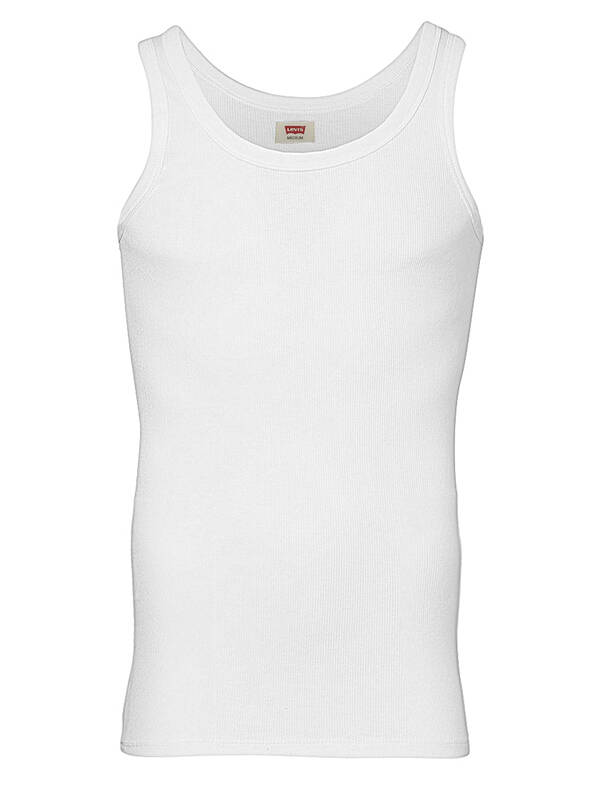 Levis Cotton Rib Tank white