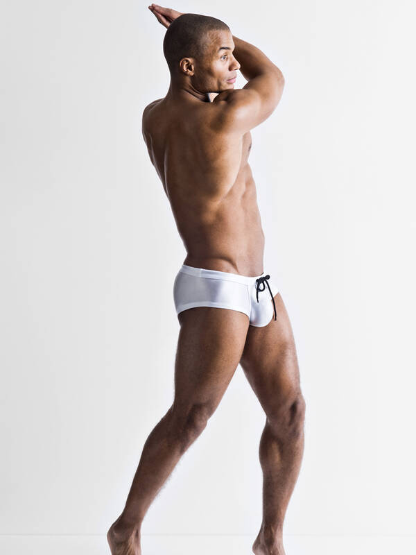 Manstore M751 Beach Hot Pants white