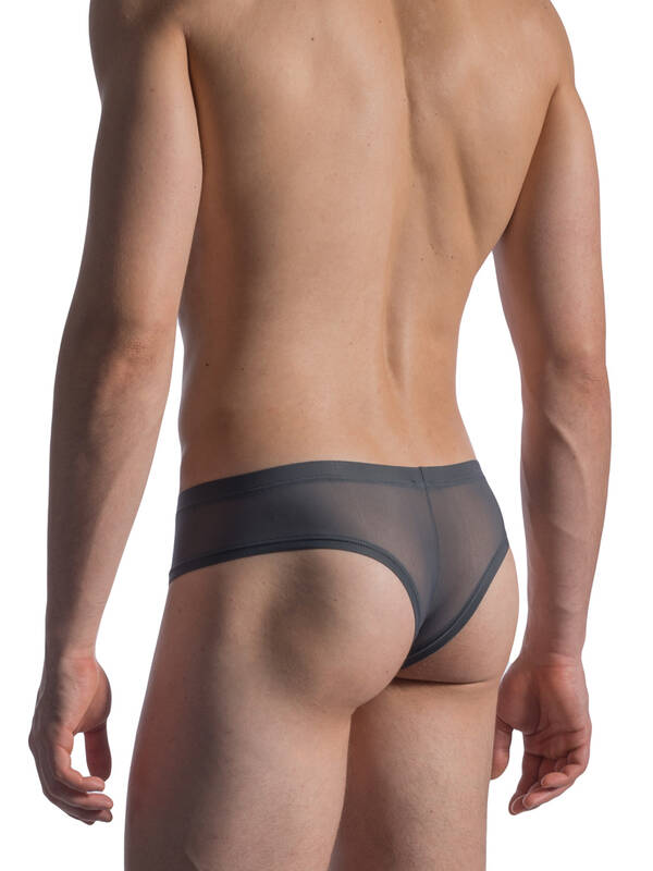 Manstore M804 Cheeky Brief ash