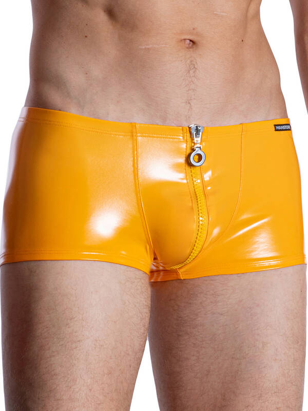 Manstore M965 Zipped Pants orange