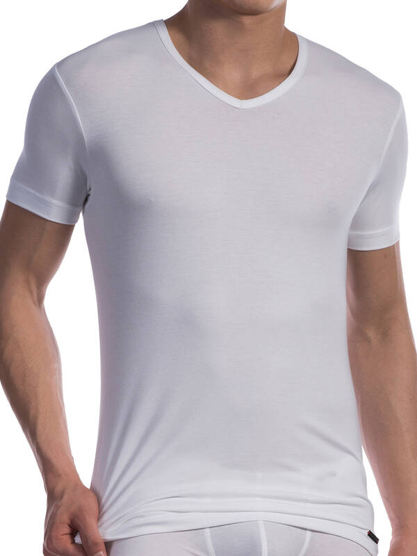 Olaf Benz RED1601 V-Neck regular white