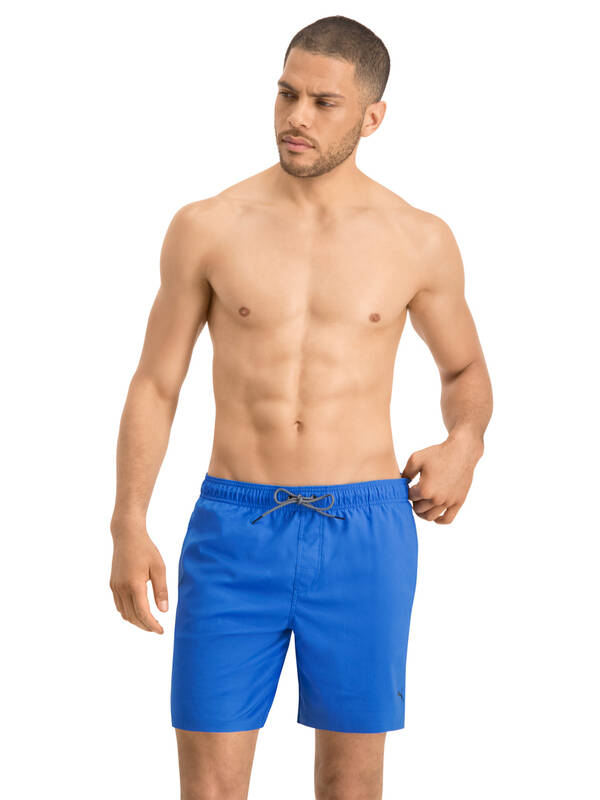 PUMA Swim Short medium-length blue