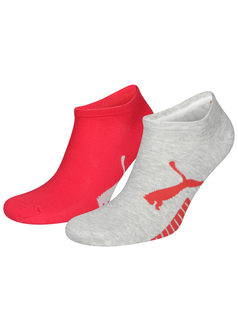 puma sustainable sneaker 2erpack grau rot socken. Black Bedroom Furniture Sets. Home Design Ideas
