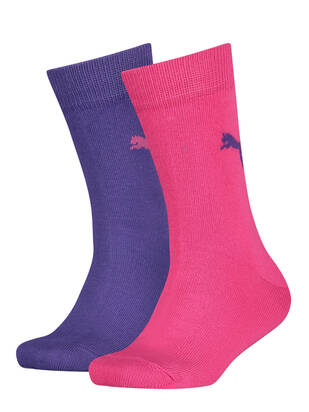 Puma Kids Socks 2erPack Easy Rider violet purple combo