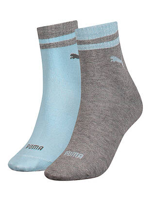 2erPack Puma Short Socks Lurex