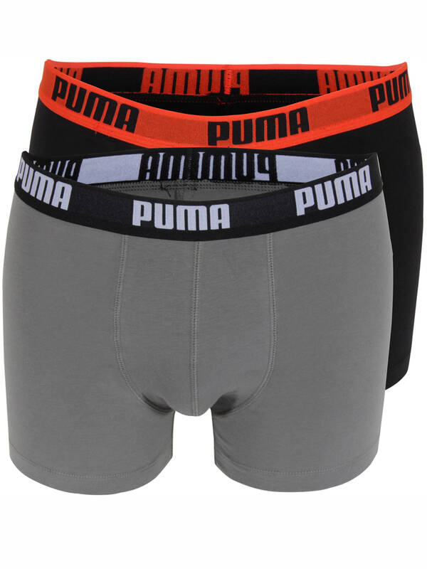 PUMA Fashion Boxer 2erPack khaki/black