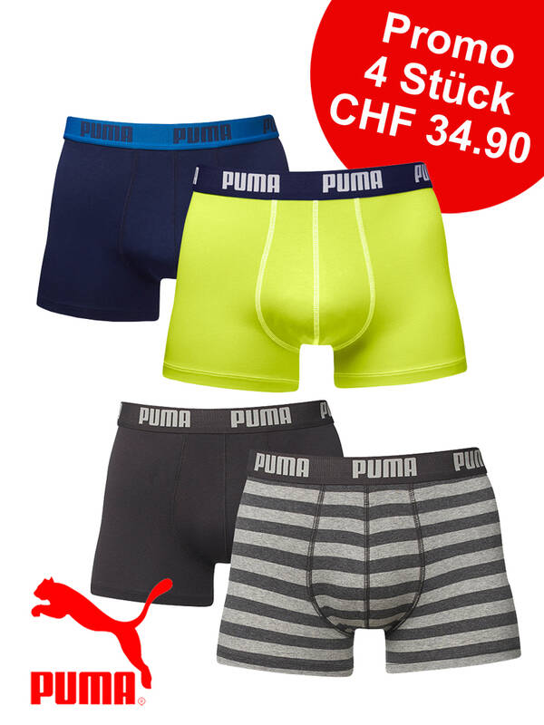 PUMA 4erPack Fashion Boxer Promotion VIII