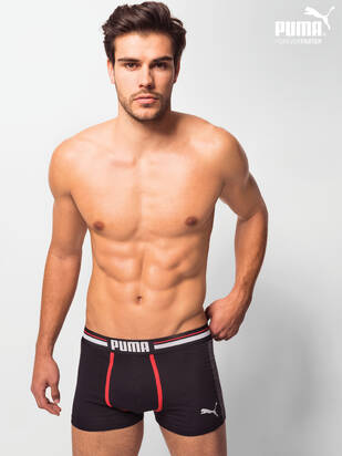 2erPack Puma Athletic Boxer