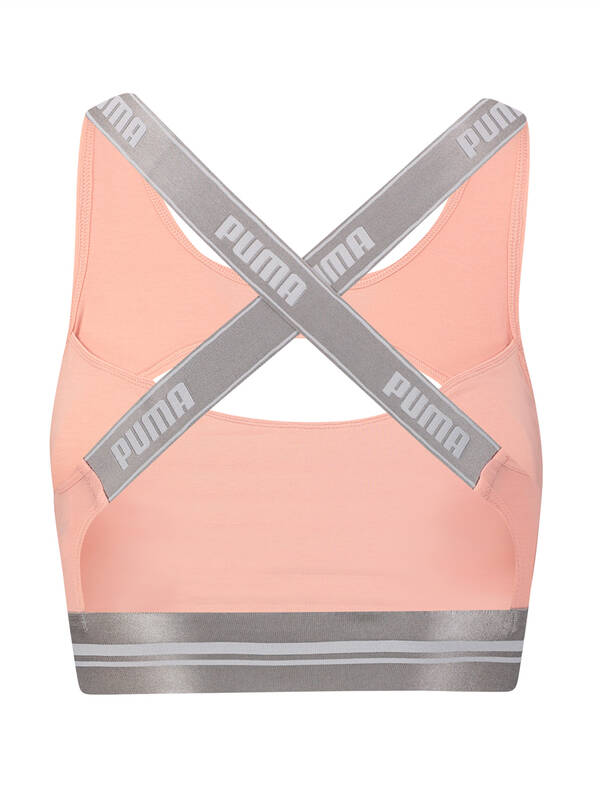Puma Peekaboo Bra Eco light pink