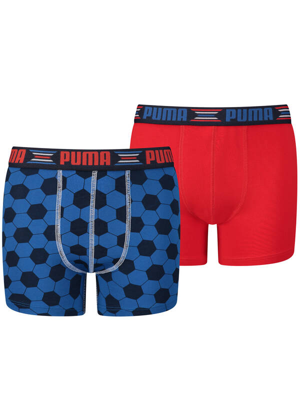 Puma Junior World Cup Print 2erPack blue/red