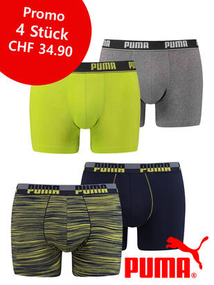 M / 4erPack Puma Fashion Promo