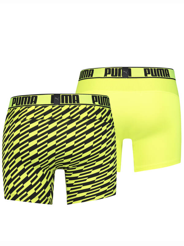 Puma 2erPack Active Boxer Bolt yellow