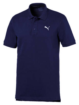Puma Pique Polo blue-depths