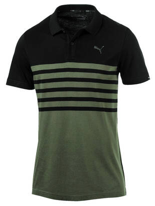 Puma Sports Stripe Jersey Polo