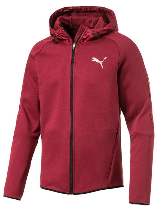 PUMA Evostripe Shield Hoody tibetan-red