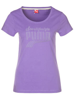 S / Puma Tshirt Athletics Bio