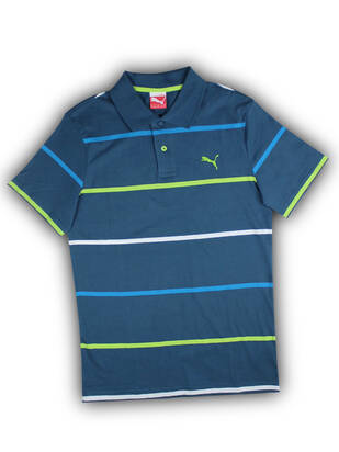 Puma SportsCasual Striped Polo
