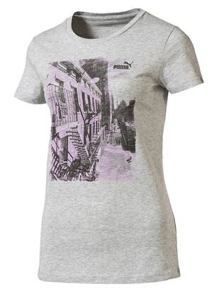 L / Puma Women Photo Tshirt