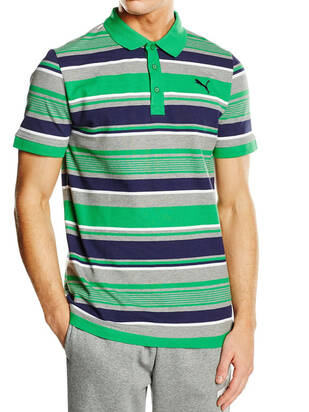 Fun Dry Stripe Pique Polo