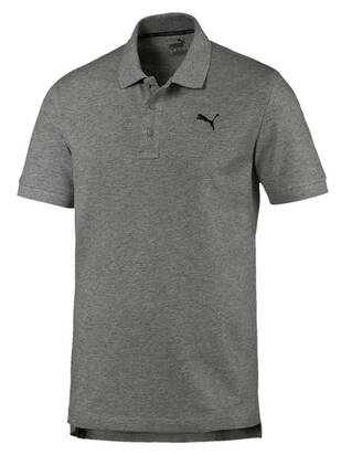 Puma Pique Polo gray-heather