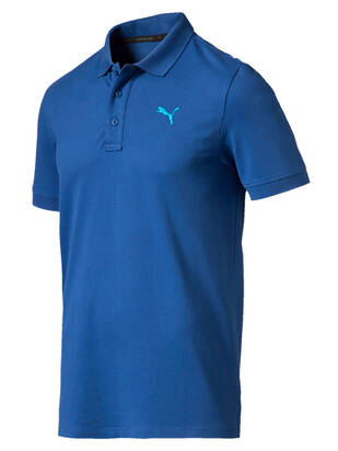 Puma Essential Pique Polo true-blue