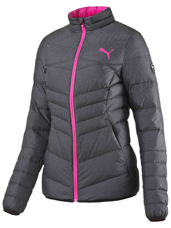 PUMA Women Active 600 Packlite Down Jacket heather chambray
