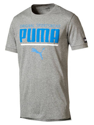 PUMA Style Tshirt medium-gray-heather