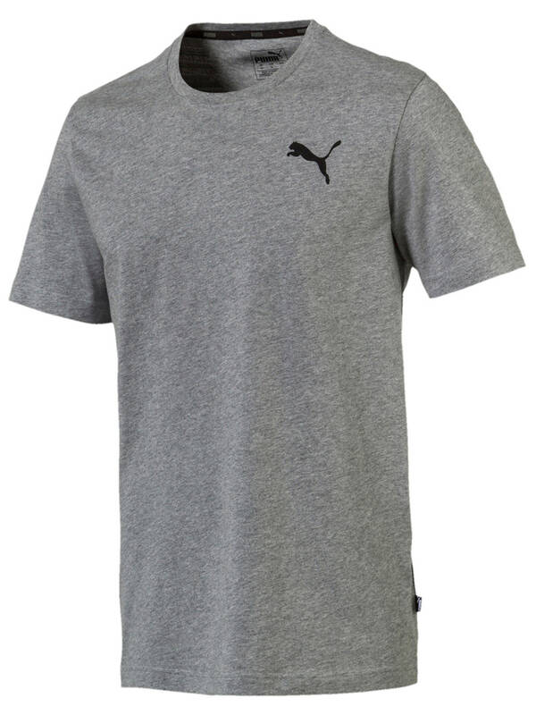 PUMA Essentials Small Logo Tshirt mediumgray-heather