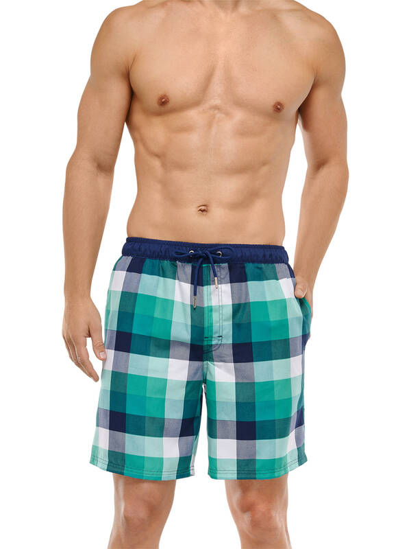 Schiesser Swimshort Hawaii Men grün
