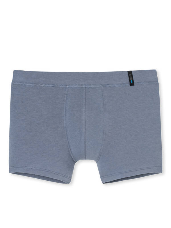 Schiesser Long Life Soft Shorts greyblue