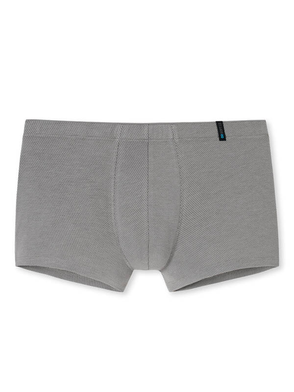 Schiesser Long Life Soft HipShort Low Rise grey