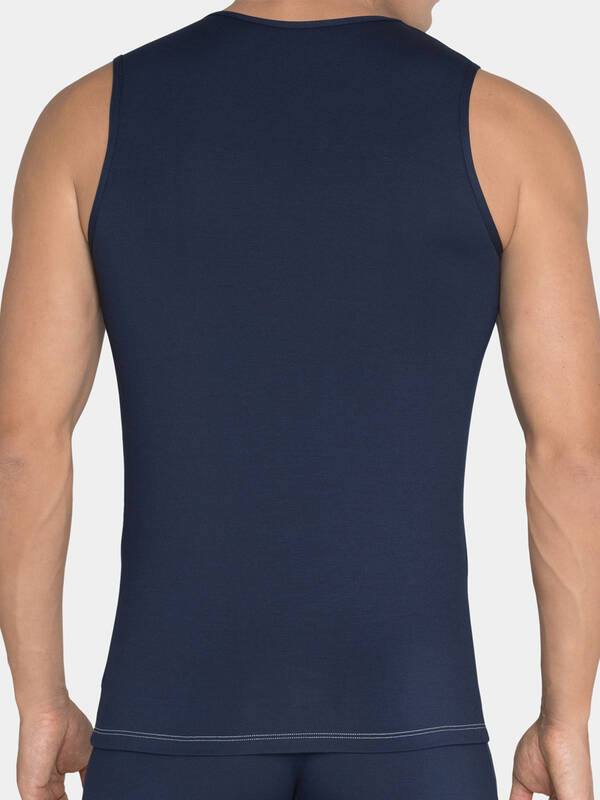 Sloggi men Basic Soft Tanktop blau