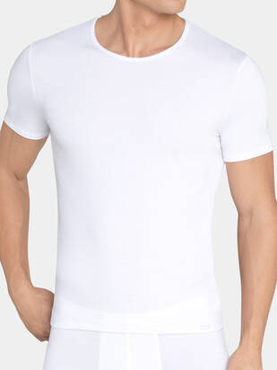 Sloggi men Basic Soft Tshirt weiss