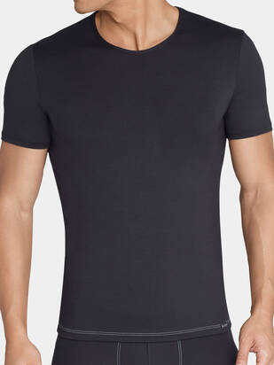Sloggi men Basic Soft Tshirt schwarz