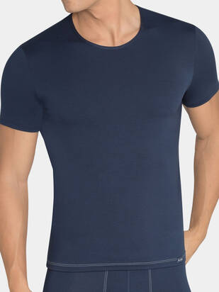 Sloggi men Basic Soft Tshirt blau