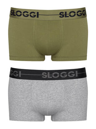 Sloggi men GO 2erPack Hipster multicolor